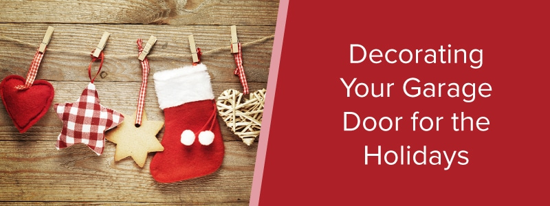 Decorating Your Garage Door for the Holidays