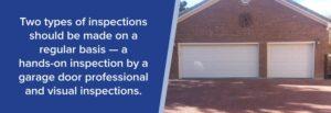 garage door inspections